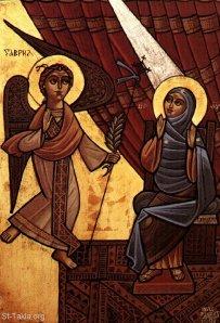 Coptic Annunciation