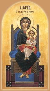 Coptic Theotokos