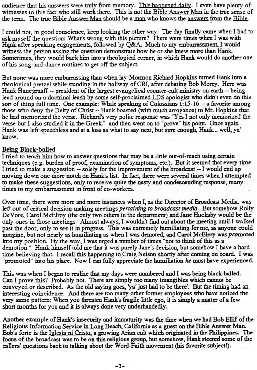 Mike Stephens Letter 3